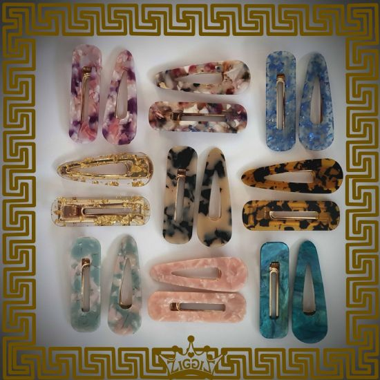 Marble, Foil Clips